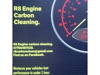 R8 Engine carbon cleaning. All makes and models. Petrol/diesel.