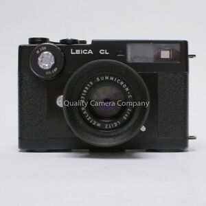 Leica-CL-Body-40mm-Summicron-C-Lens-Package-STRAP-HOOD-CASE