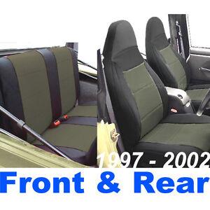 Jeep Tj Seat Covers Ebay