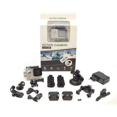 Action Cam 1080P Full HD Wasserfeste Sport Video Kamera Camcorder GoPro