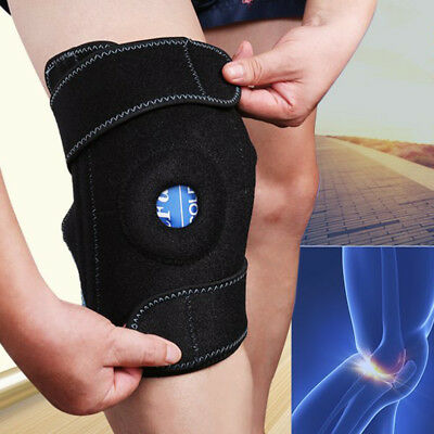 Gel Pack Knee Support Wrap for Cold Hot Therapy Heat Hot Cold Ice Pack Brace