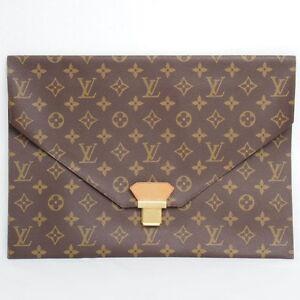 Vintage-Louis-Vuitton-LV-Monogram-Brown-Poche-Plate-Envelope-Clutch  - 300 x 300  13kb  jpg