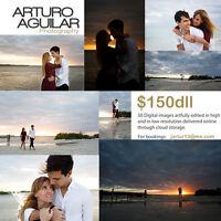 Wedding & lifestyle Photography at Riviera Maya starting  $150us