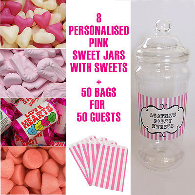 NDY JAR BAGS SWEETIE TABLE BUFFET BAR WEDDING PARTY BIRTHDAY (Party Candy Buffet)