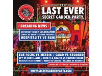 Garden party 2 adult tickets
