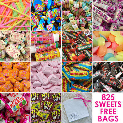 TABLE BUFFET BAR WEDDING PARTY BIRTHDAY 825 sweet +FREE BAGS (Party Candy Buffet)