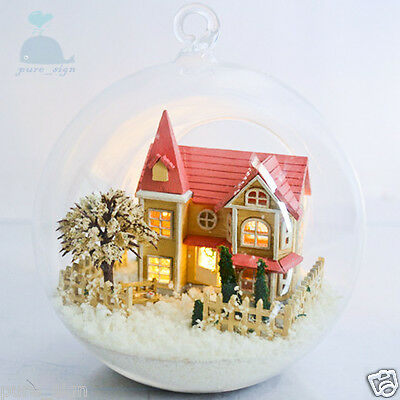 DIY Handcraft Miniature Project Wooden Dolls House The Angel's Magic house for sale  Shipping to United States