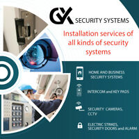 Security Systems and Cameras Installation