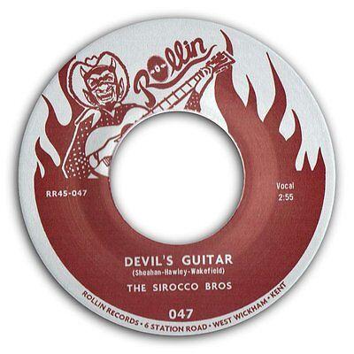 """SIROCCO BROS - """"DEVIL'S GUITAR"""" b/w """"BOP"""" MAGNIFICO ROCKABILLY 45 - HEAR IT"""