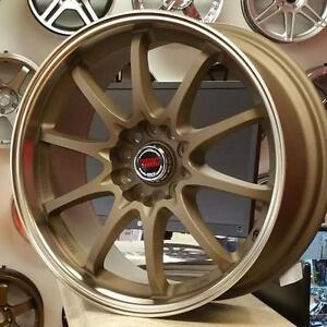 18x8.5 5x114.3 +40  Work Ce28 Replica Wheels ( 4 New) $699 CASH @905 673 2828