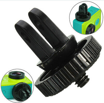 "Mini 1/4"" Monopod Tripod Mount Adapter with Screw Thread For GoPro Hero 1 2 3 Jl"