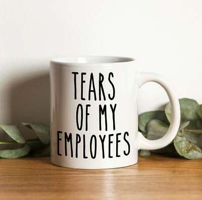 Gift For Boss  Boss Gifts, Boss Mugs  Tears of my Employees Funny Best Boss  (Best Gifts For Employees)