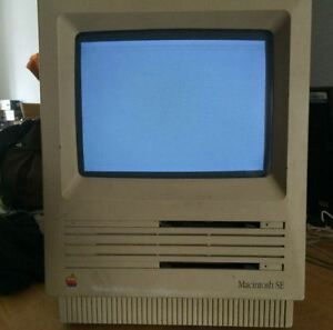 Vintage Macintosh SE M0420 Fonctionnel apple mac M5010