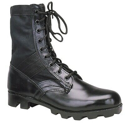 Black Military Steel Toe Tactical 8