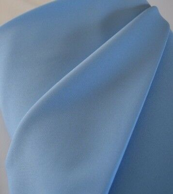 """Lt blue Gabardine Tropical Polyester 60 to 62"""" wide. Free swatches. for sale  Miami"""