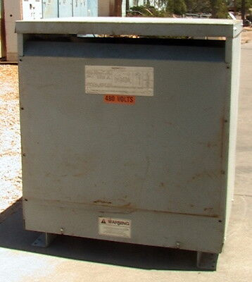 Siemens 75 Kva Three-phase Energy Star Distribution Dry Transformer 480--208120