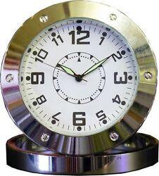 HD SPY Hidden Video Camera Table Clock Motion Detection Mini DV DC DVR 720P