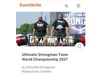 Ultimate Strongman Team World Championship Tickets