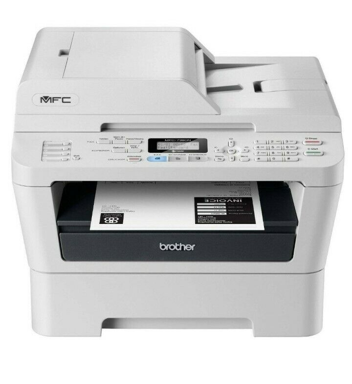 Brother MFC-7360N All-In-One Laser Printer With New Toner & drum
