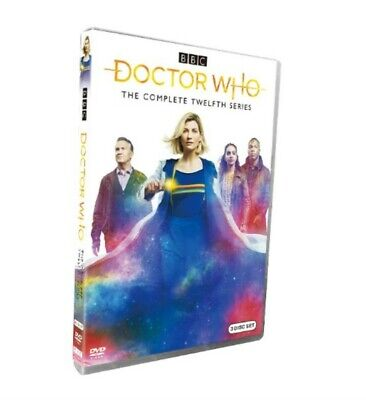 Doctor Who Season 12 (DVD, 2020, 3-Disc Set)