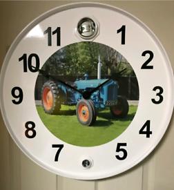 Dexter Ford massey cat John deere Oil drum clock Volvo scania tractor