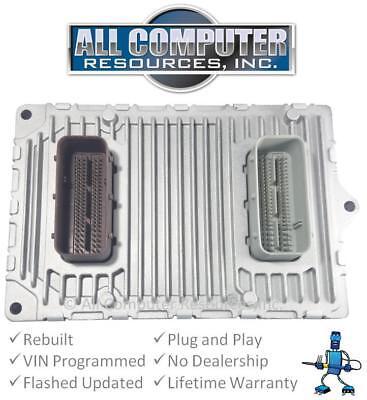 2014 Jeep Wrangler 3.6L ECU ECM PCM Engine Computer - Automatic A/T OEM