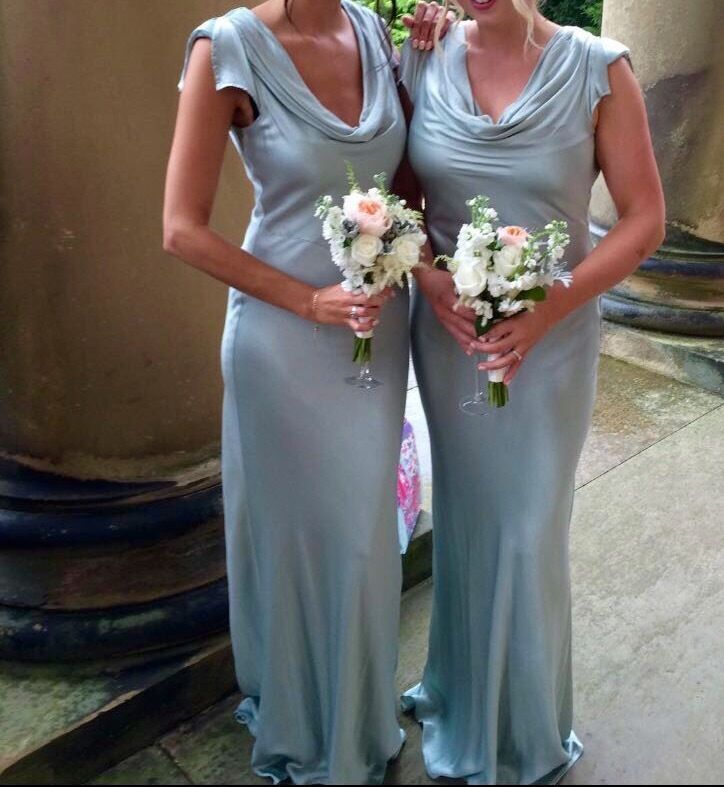 4c14c14d73478 Ghost Bridesmaid Dress Medium 80 Sylvia In Dusty Green