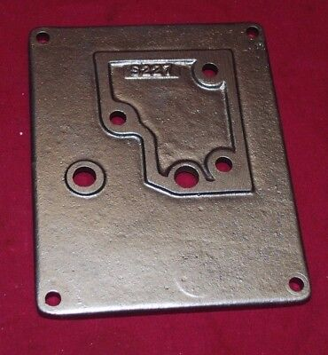 Original Maytag Model 82 Tank Cover Plate Gas Engine Motor Wringer Washer