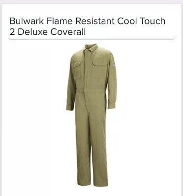 Bulwark Flame Resistant Cool Touch 2 Deluxe Coverall XL Long Flame Resistant Coverall Deluxe