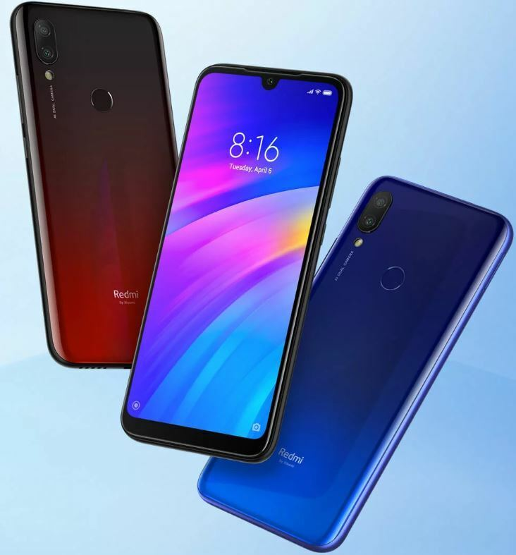 Android Phone - Xiaomi Redmi 7 Unlocked 16GB 2GB RAM Dual Sim 4G LTE Smartphone - Global Version