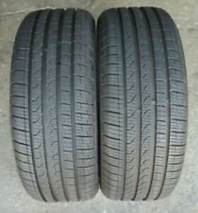 275/55R20 Set of 2 Pirelli Used Free Inst.&Bal.75%Tread Left
