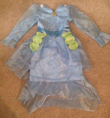 Disney Store Water Fairy Rani Costume, Tinkerbell friend, size 7/8](Water Fairy Tinkerbell)