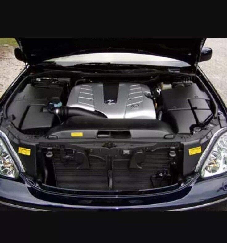 Lexus Ls430 Facelift Vvti Engine With 6 Speed Gearbox And Torque Converter