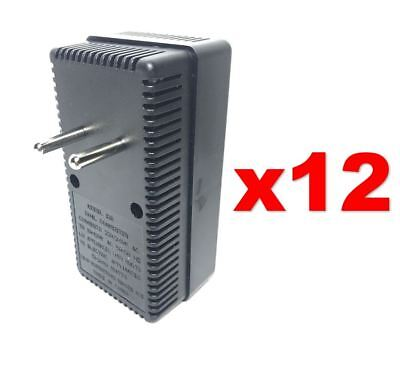 EU Europe to USA 50-2000W Voltage Converter 220v to 110v Power Transformer 12PC