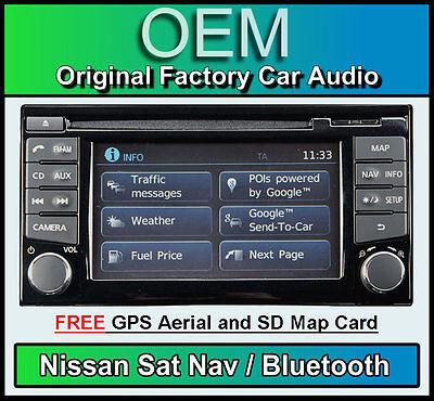Nissan Schein Navigationssystem Auto Stereo Radio, LCN2 Connect CD-Player