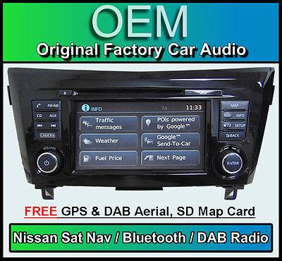 Nissan Qashqai Navigationssystem Stereo, DAB+ Radio, LCN2 Connect Cd-Player