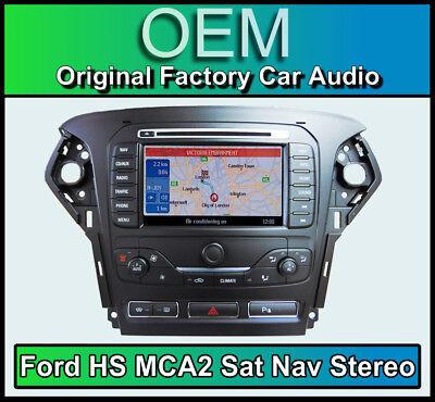 Ford Mondeo GPS Coche Estéreo, Ford Hs MCA2 Navegación Reproductor De CD