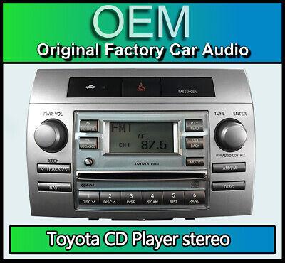 Toyota Corolla Verso 04-09 Pioneer DAB CD MP3 USB Car Stereo Silver Fitting Kit