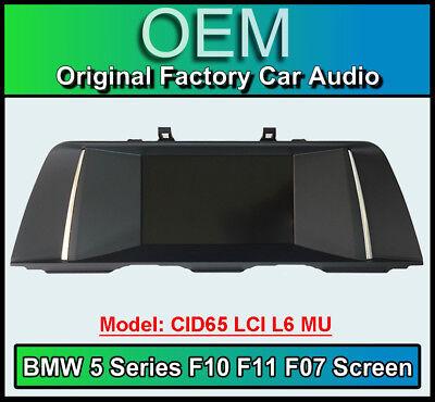 BMW 5 Series display screen, BMW F10 F11 F07, CID65 LCI L6 MU, Multi Function