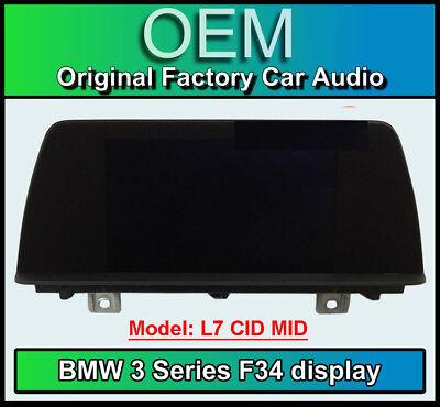 BMW 3 Series Gran Turismo display screen, BMW F34, L7 CID MID, Multi function