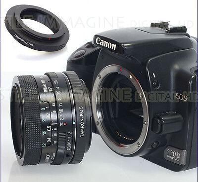 Anillo Adaptador Objetivo Tamron Adaptall 2 Su Corpo Canon EOS Compatible