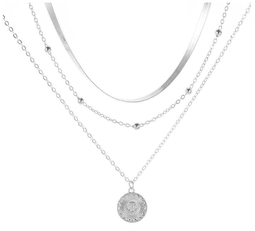 925 Silber Halskette Damen Halsketten Schlangen Link Kette Choker Silber 50 cm