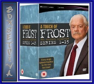 A TOUCH OF FROST - THE COMPLETE SERIES 1- 15 *BRAND NEW DVD BOXSET