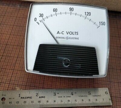 General Electric Ge 50-171031 Pzwz1 0-15 A-c Kilovolts Panel Meter Type A0-92