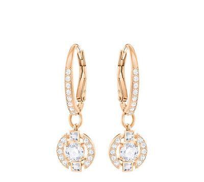 Swarovski 5272367 Sparkling RG Plated Pierced Earrings, Aprx Size 2.5cm RRP $129