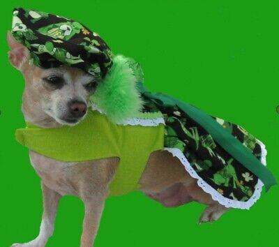 Handmade Irish Dog St. Patrick's Day dress for Small Dog](Dog St Patrick's Day Clothes)