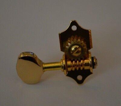 New Gold Classic Acoustic Guitar Tuner High Quality Peg Knob & Screws