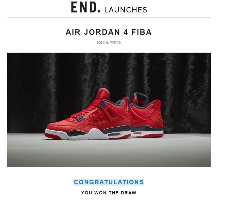 the latest b8372 b2100 Nike air Jordan 4 red fabi | in Southside, Glasgow | Gumtree