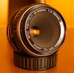 SMC Pentax-M Macro 50mm f4.0 lens