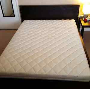 Full/double bed frame and mattress
